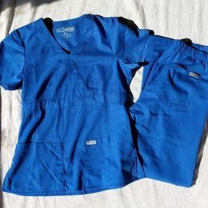 Grey's Anatomy Women's Modern Fit Scrub Set XS